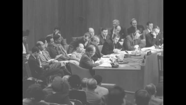 Indonesian member of the UN Security Council speaks about tensions between the Netherlands and Indonesia / Note exact year not known documentation...