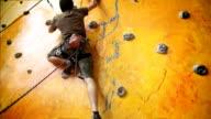 Indoor Rock Climber