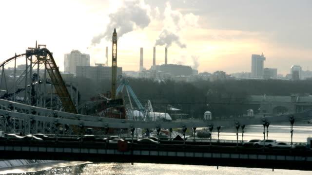 Industrial Blick auf die Stadt