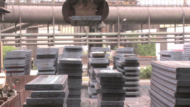WS Industrial equipments in steel factory at Thyssen Steel AG / Duisberg, North Rhine-Westphalia, Germany