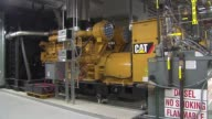 Industrial Generator At Hospital at Lurie Children's Hospital on June 11 2013 in Chicago Illinois