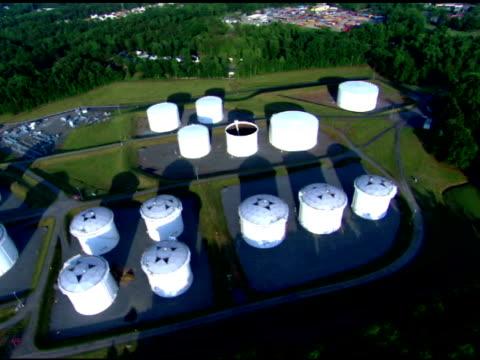 Industrial oil tank farm, Charlotte, North Carolina