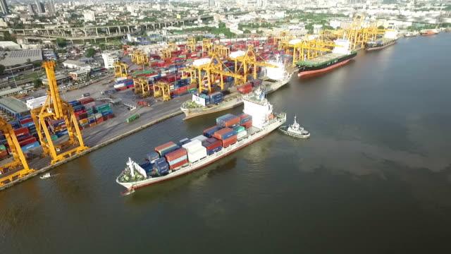 Industrial Versand Hafen in Bangkok, Thailand