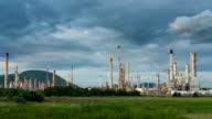 Industriële weergave time-lapse