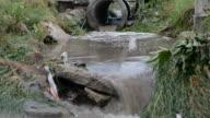 Industrieel afvalwater naar riolering, grachten