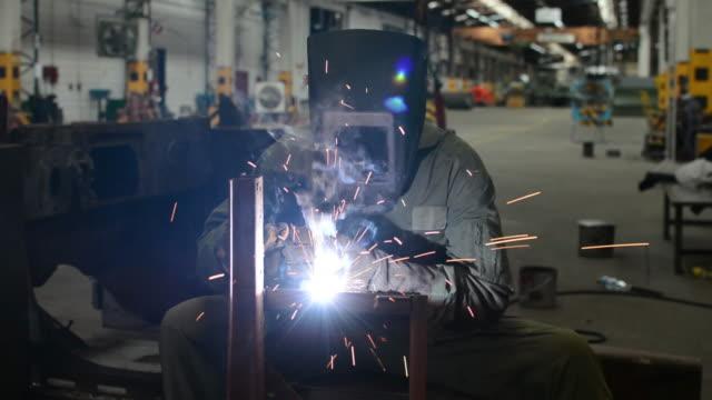 Industrie Arbeiter Schweißen