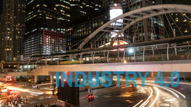 Industry 4.0 Sathorn business districts