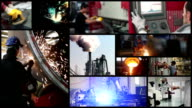 Industrie-Collage