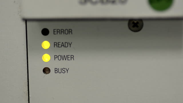industry equipment yellow light