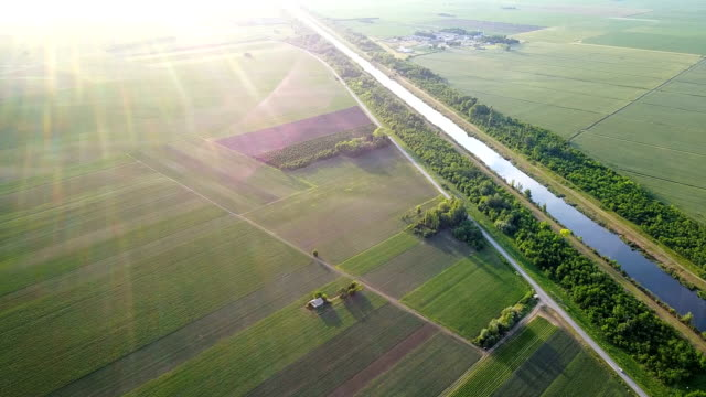 Industry in rural areas and waterways