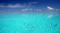 Infinity pool, Maldives, Indian Ocean