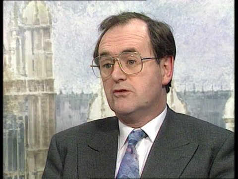 Inflation/ Manufacturing output Westminster CMS Alan Beith MP intvwd SOF Manufacturing output is down again Risley CMS Sign at BNFL HQ CMS Windows at...