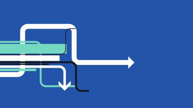 Info-grafica tabella animazione