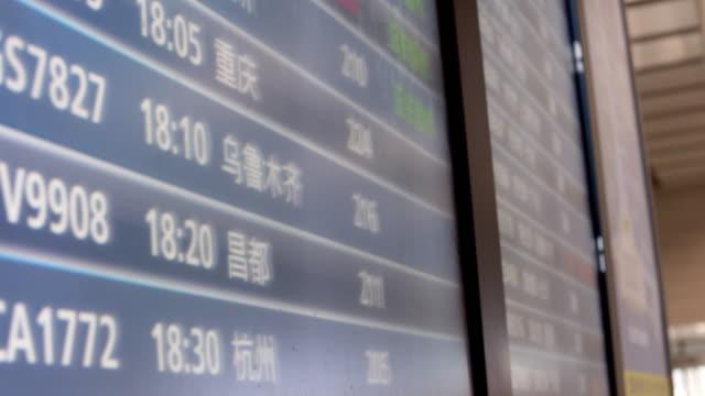 information on digital screen