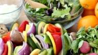 Ingrediënten voor een gezonde maaltijd