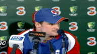 INT Andrew Strauss press conference SOT On preparation for Ashes