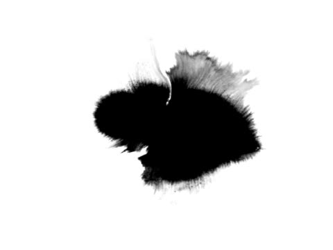 Ink blot series 2, spreading each one in full screen