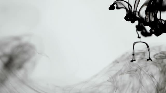 ink drop, ink cloud