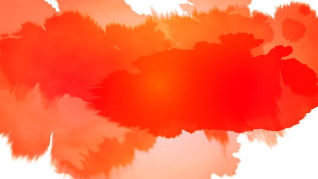 Tinte Splat Serie-rot-weiße & Schwarz