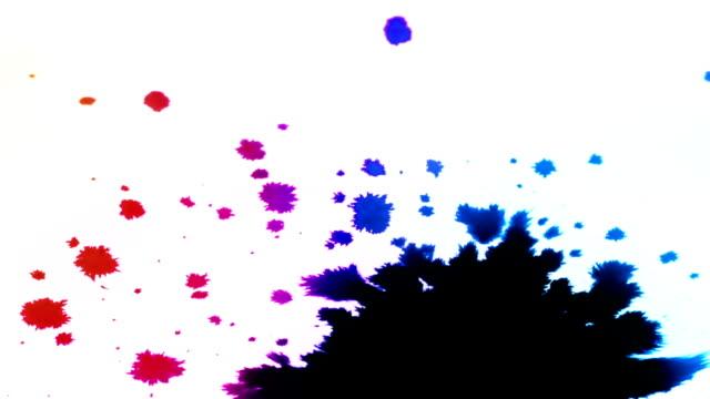 Tinte splatters