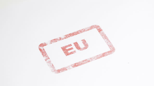 EU ink stamp - 4K