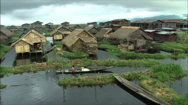 Inle Lake In Myanmar