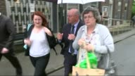Inquest into deaths of three men during SAS training march on Brecon Beacons ENGLAND Solihull SLOW MOTION Relatives along to court Margaret Roberts...