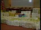 Inquiry ITN SEQ Packets of Colombian cocaine seized by US officials