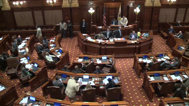 WGN Inside Illinois Congressional Session At The State Capitol on August 11 2015