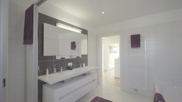 inside modern bathroom
