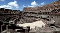 Inside the Coliseum of Rome
