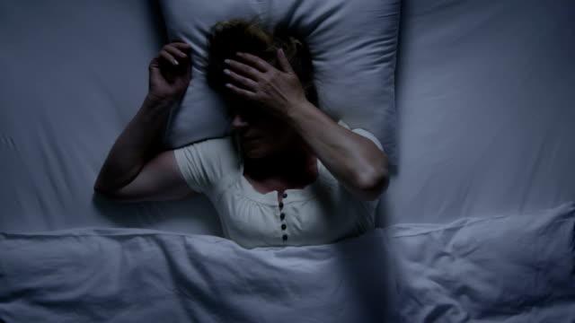 Schlaflosigkeit Schlaf problem und die Lösung