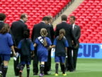 FIFA inspectors began a fourday visit to inspect England's 2018 World Cup bid on Monday with the campaign boosted by encouraging words from FIFA...