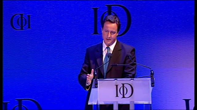 David Cameron David Cameron speech continued they have failed in their central mission in social justice as well as business/ this govt is taxing the...
