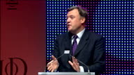 Ed Balls speech Balls speech SOT The fact is and thankfully unlike Britain those countries are locked into the Eurozone they have no exchange rate...