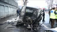 Insurgentes talibanes llevaron a cabo un ataque este jueves en el barrio de las embajadas de Kabul que dejo dos muertos