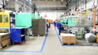 Intensive production line - injection molding