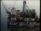 Interest rates N AIRV Smoke rising from Cormorant Alpha oil platform TMS Platform TRACK RL TS Ditto INT