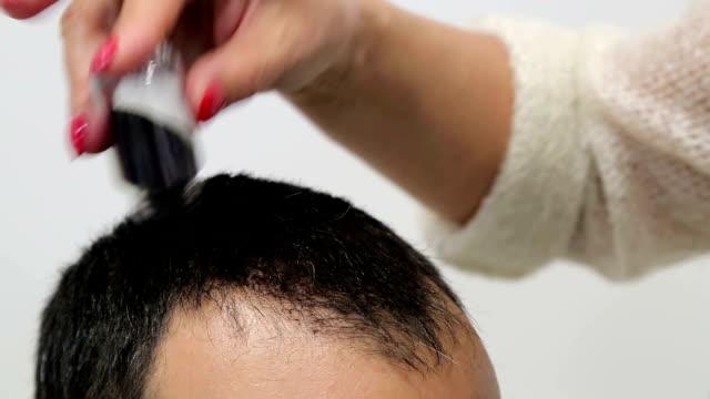 Interesting powder for baldness