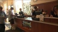 Interior and Exterior of Art's Delicatessen Restaurant on July 25 2013 in Studio City California