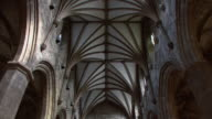 TD Interior ceiling and nave of cathedral / Edinburgh, Scotland, United Kingdom
