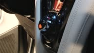 Interior console for Aston Martin Cygnet Aston Martin Cygnet Launch on January 20 2011 in London England