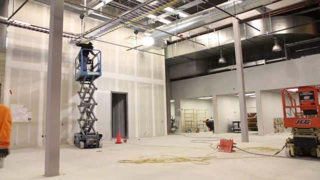 Interior Construction Time-lapse