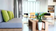 Interior design of Living & Dining room