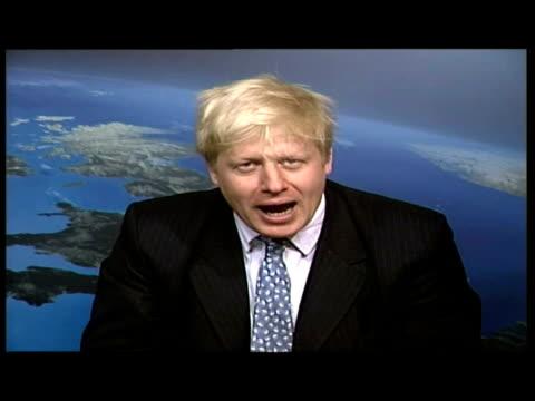 Interior interview with Boris Johnson