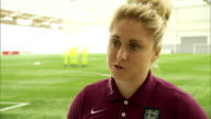 interior interview with Captain of the England Women's Football Team Steph Houghton about meeting Prince William and the upcoming FIFA Women's World...