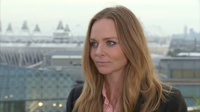 Interior interview with designer Stella McCartney on her involvement in creating the Team GB performance outfits Stella McCartney on her Team GB...