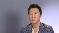 Interior interview with Donnie Yen Star Wars Rogue One Actor at Leicester Square on December 13 2016 in London England