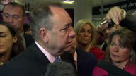 Interior Interview with First Minister Alex Salmond on how Independence will effect businesses on September 15 2014 in Edinburgh Scotland