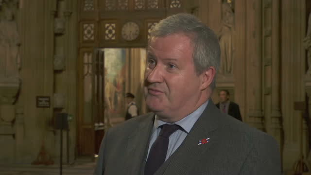 Interior interview with Ian Blackford Scottish National Party MP for Ross Skye and Lochaber speaking about the outcome of a crossparty meeting hosted...